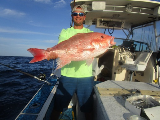 American red snapper fishing charters in pine island for Pine island fishing charters